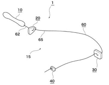 OKプロステートチップの括約筋ストッパーの位置の図