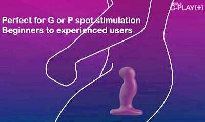 NEXUS G-PLAY+(ジープレイ)を女性の膣(Gスポット)に使用した例
